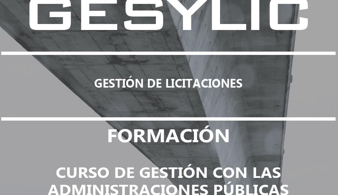 Formación en la gestión de licitaciones | GESYLIC